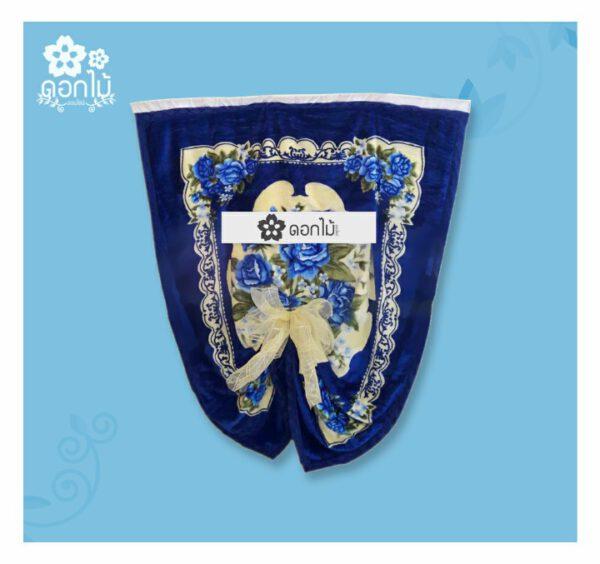 พวงหรีดผ้าเต็กผ้ากำมะหยี่ – 2200 (2)