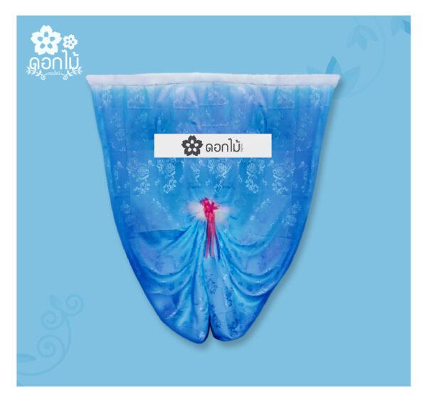 พวงหรีดผ้าเต็กผ้าแพร – 1500 (2)